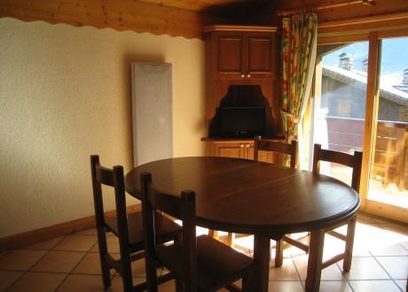 Location au ski Residence Les Hauts De Chavants Berard - Les Houches - Table