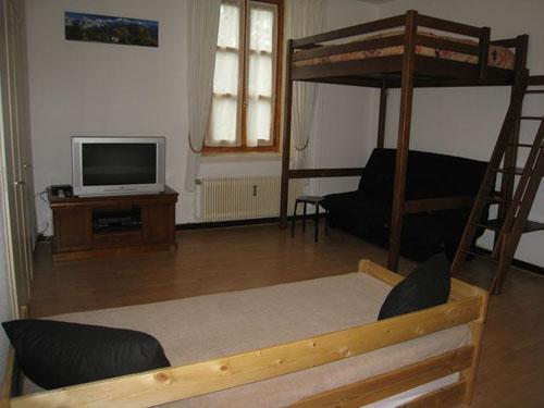 Location au ski Studio coin montagne 6 personnes (105) - Residence Sainte Marie - Les Houches - Lits superposés