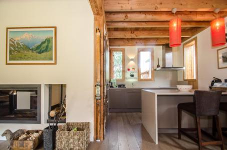 Rent in ski resort 7 room chalet 12 people - Chalet Athina - Les Houches