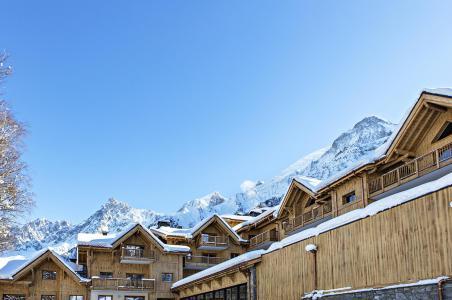 Location au ski Les Chalets Eléna - Les Houches - Extérieur hiver