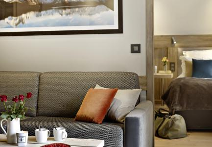 Rent in ski resort Les Chalets Eléna - Les Houches - Living room