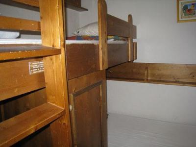 Location au ski Appartement 2 pièces cabine 6 personnes (10) - Les Hauts De Chavants Berard - Les Houches - Lits superposés