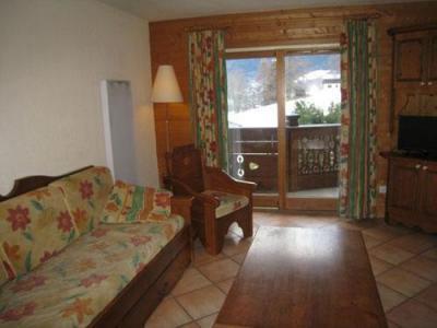 Location au ski Appartement 2 pièces cabine 6 personnes (10) - Les Hauts De Chavants Berard - Les Houches - Séjour