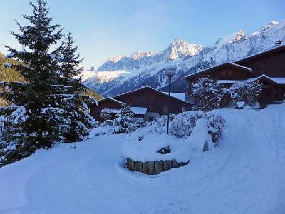 Location au ski Appartement 4 pièces 7 personnes (2) - Les Hauts des Chavants - Les Houches - Extérieur hiver