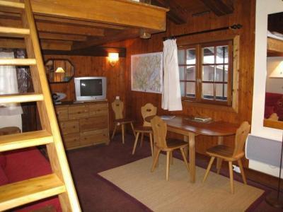Location au ski Studio mezzanine 4 personnes (4) - Residence Bionnassay - Les Houches - Séjour