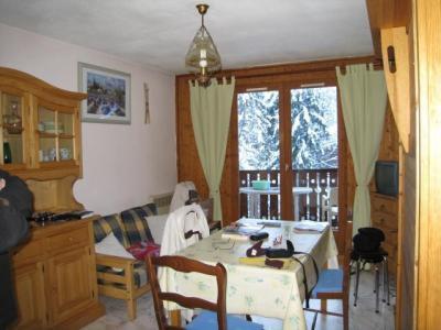 Location au ski Studio cabine 4 personnes (B 43) - Residence Le Chateau B - Les Houches - Séjour
