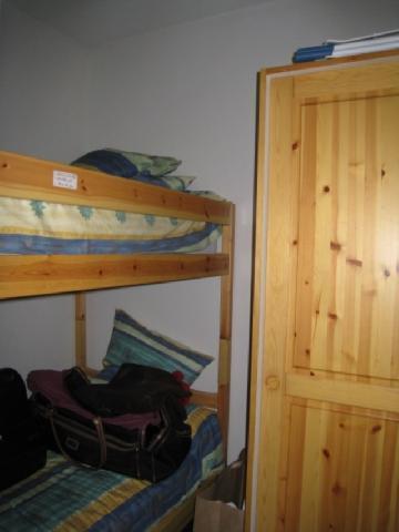 Location au ski Studio cabine 4 personnes (B42) - Residence Le Chateau - Les Houches - Lits superposés