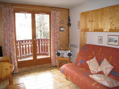 Location au ski Studio cabine 4 personnes (B42) - Residence Le Chateau - Les Houches - Séjour