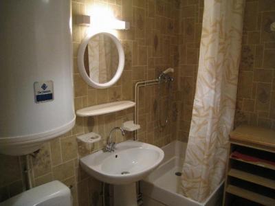 Location au ski Studio mezzanine 4 personnes (A18) - Residence Le Chateau - Les Houches - Douche
