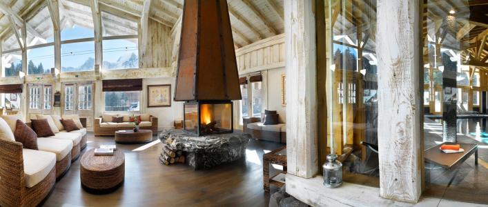 Location au ski Résidence le Hameau de Pierre Blanche - Les Houches - Réception