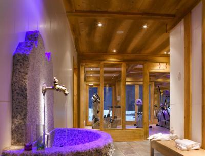 Location au ski Résidence le Hameau de Pierre Blanche - Les Houches - Espace fitness
