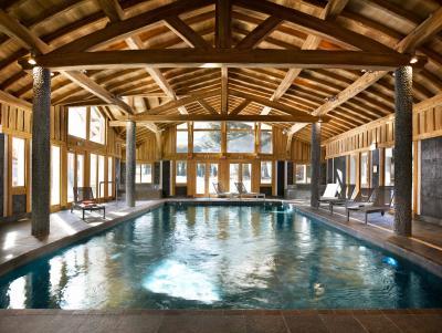 Location au ski Residence Le Hameau De Pierre Blanche - Les Houches - Piscine