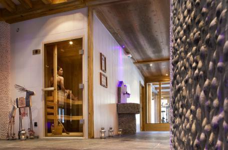 Location au ski Residence Le Hameau De Pierre Blanche - Les Houches - Sauna