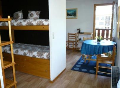 Location au ski Studio 4 personnes (28) - Residence Le Prarion 2 - Les Houches - Coin nuit