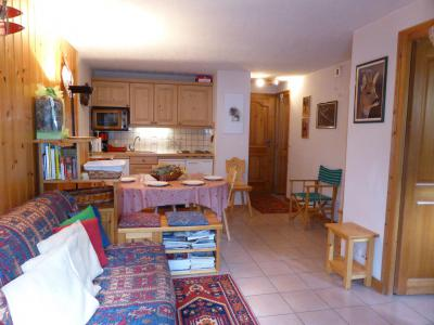 Rent in ski resort 2 room apartment cabin 5 people (B6) - Résidence les Aiguilles Rouges - Les Houches