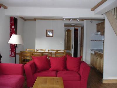 Location au ski Appartement 3 pièces 8 personnes - Residence Les Balcons D'anaite - Les Houches - Séjour