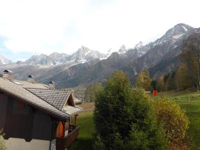 Rent in ski resort 2 room apartment cabin 6 people (Berard 10) - Résidence les Hauts de Chavants - Les Houches