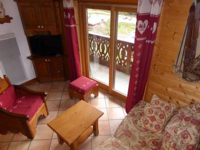 Rent in ski resort 4 room mezzanine apartment 6 people (Vallot 03) - Résidence les Hauts de Chavants - Les Houches