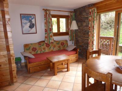 Rent in ski resort 2 room apartment 4 people (Berard 12) - Résidence les Hauts de Chavants - Les Houches