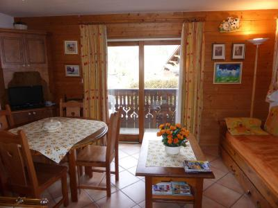Rent in ski resort 2 room apartment 6 people (Bellachat 01) - Résidence les Hauts de Chavants - Les Houches