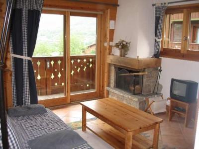 Location au ski Appartement 2 pièces 6 personnes (10) - Residence Les Hauts De Chavants Vallot - Les Houches - Séjour