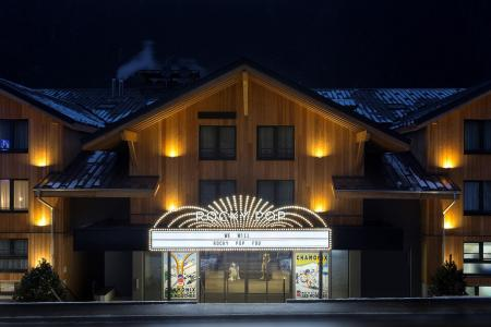 Rent in ski resort Rockypop Hotel - Les Houches - Winter outside