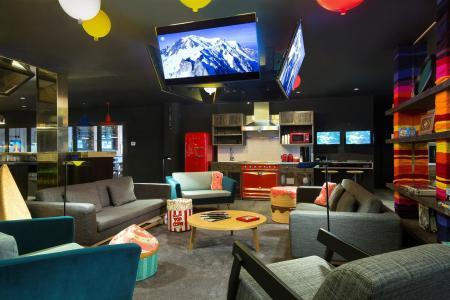 Rent in ski resort Rockypop Hotel - Les Houches - Inside