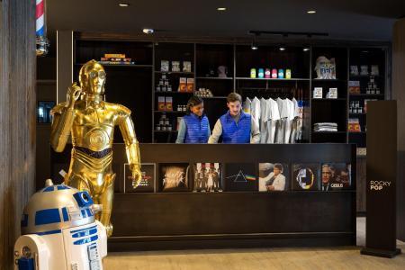 Rent in ski resort Rockypop Hotel - Les Houches - Reception
