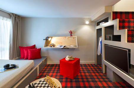 Rent in ski resort Rockypop Hotel - Les Houches - Bedroom