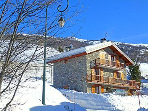 Ski en décembre Chalet Flocon De Belleville