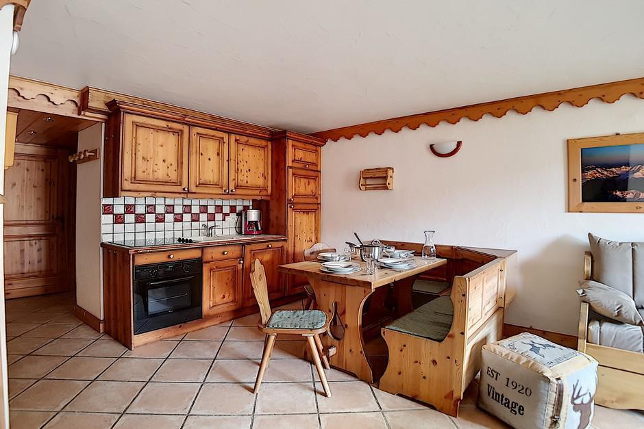Location au ski Appartement 4 pièces 8 personnes (A4) - Chalet Hameau Des Marmottes - Les Menuires