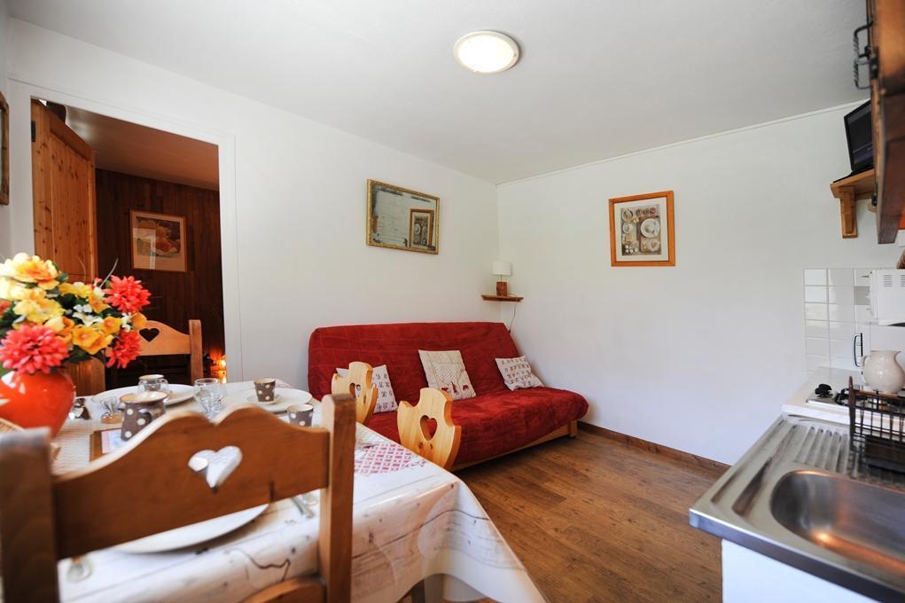 Location au ski Appartement 2 pièces coin montagne 4 personnes - Chalet Le Genepi - Les Menuires - Canapé