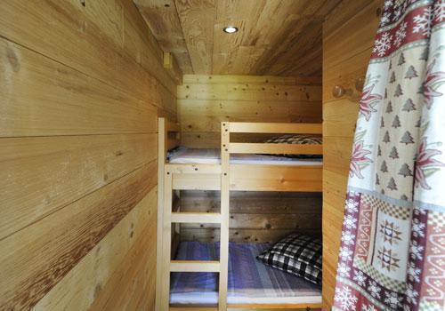 Location au ski Appartement 2 pièces coin montagne 4 personnes - Chalet Le Genepi - Les Menuires - Lits superposés