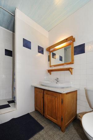 Location au ski Appartement 2 pièces coin montagne 4 personnes - Chalet Le Genepi - Les Menuires - Meuble vasque