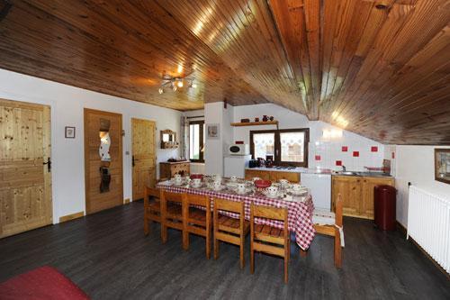 Location au ski Appartement 3 pièces 8 personnes - Chalet Le Genepi - Les Menuires - Salle à manger