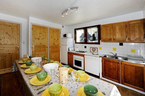 Location au ski Appartement 5 pièces 8 personnes - Chalet Le Genepi - Les Menuires - Salle à manger