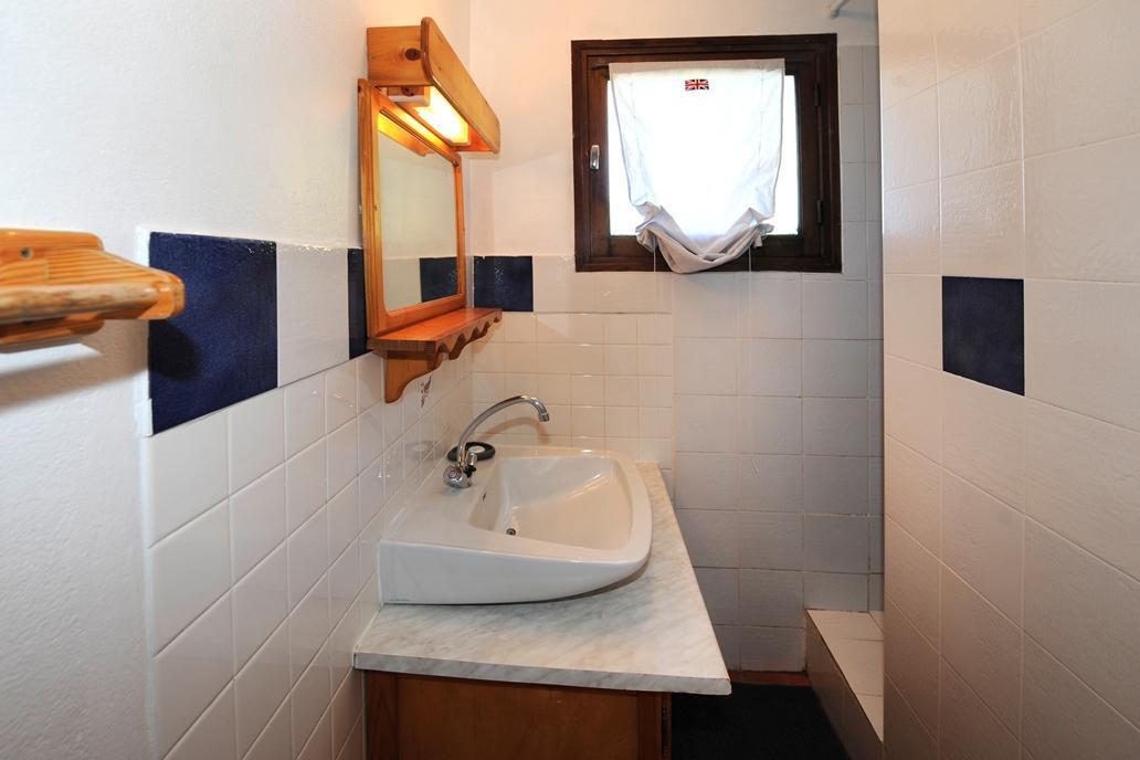 Location au ski Appartement 5 pièces 8 personnes - Chalet Le Genepi - Les Menuires - Salle d'eau