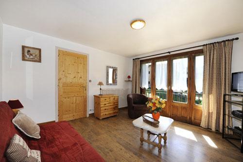 Location au ski Appartement 5 pièces 8 personnes - Chalet Le Genepi - Les Menuires - Séjour