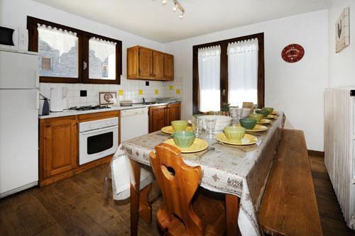 Location au ski Appartement 5 pièces 8 personnes - Chalet Le Genepi - Les Menuires - Table