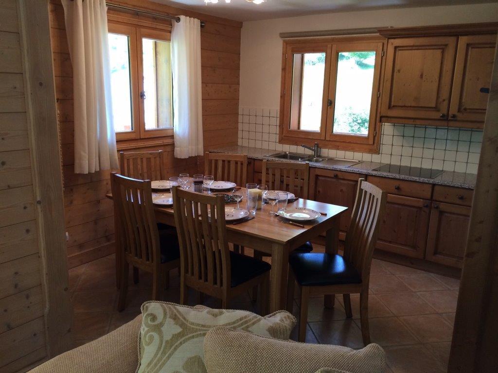 Location au ski Appartement 4 pièces 6 personnes (B4) - Chalets Du Doron - Les Menuires - Séjour