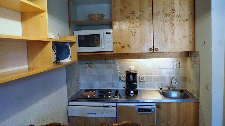 Location au ski Appartement 2 pièces 4 personnes (130) - La Residence Boedette - Les Menuires - Kitchenette