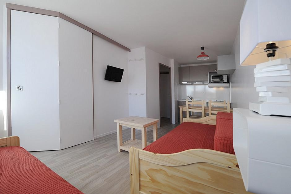 Location au ski Appartement 2 pièces 4 personnes (328) - La Residence Boedette - Les Menuires - Coin séjour