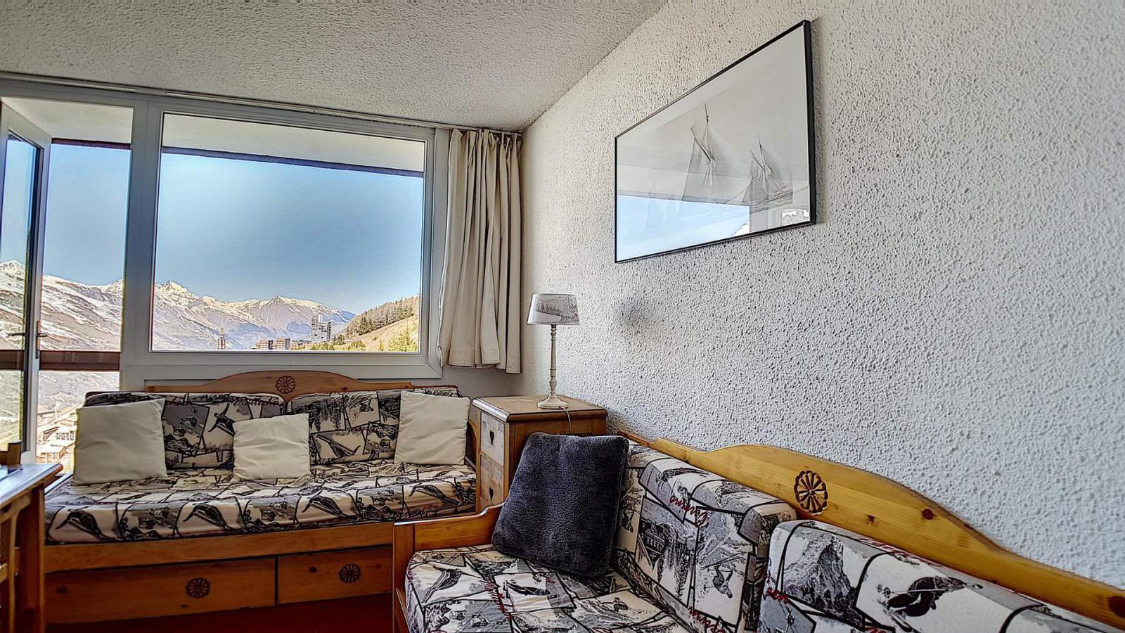 Location au ski Appartement duplex 2 pièces 5 personnes (807) - La Residence Boedette - Les Menuires - Chambre