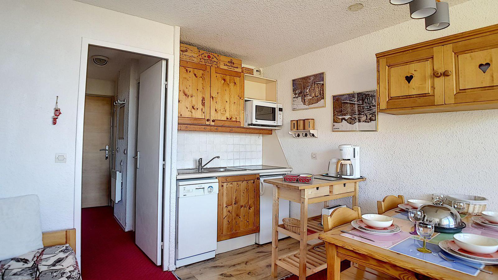 Location au ski Appartement duplex 2 pièces 5 personnes (807) - La Residence Boedette - Les Menuires - Séjour