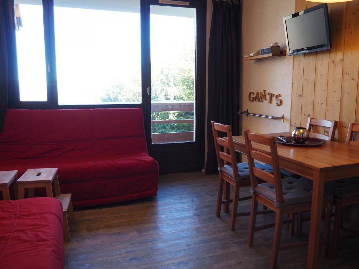 Location au ski Studio coin montagne 4 personnes (605) - La Residence Boedette - Les Menuires - Coin séjour