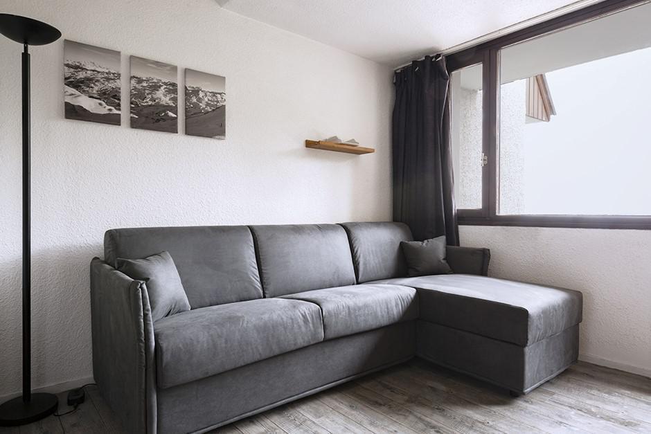 Location au ski Studio coin montagne 4 personnes (605) - La Residence Boedette - Les Menuires - Lits superposés