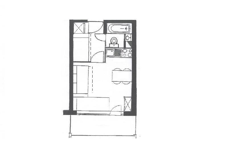 Location au ski Studio coin montagne 4 personnes (519) - La Residence Le Necou - Les Menuires