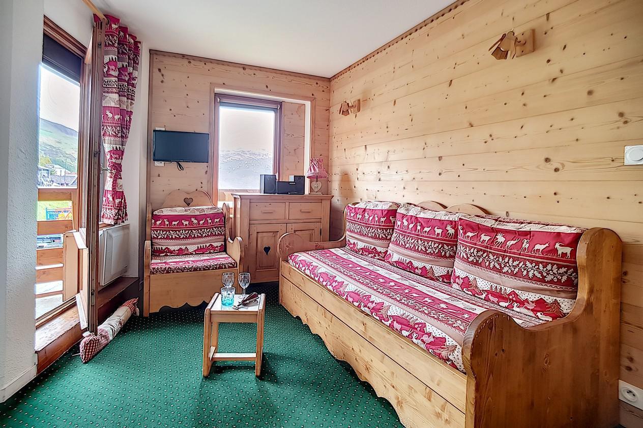 Location au ski Appartement 2 pièces 4 personnes (624) - La Residence Le Necou - Les Menuires - Chambre