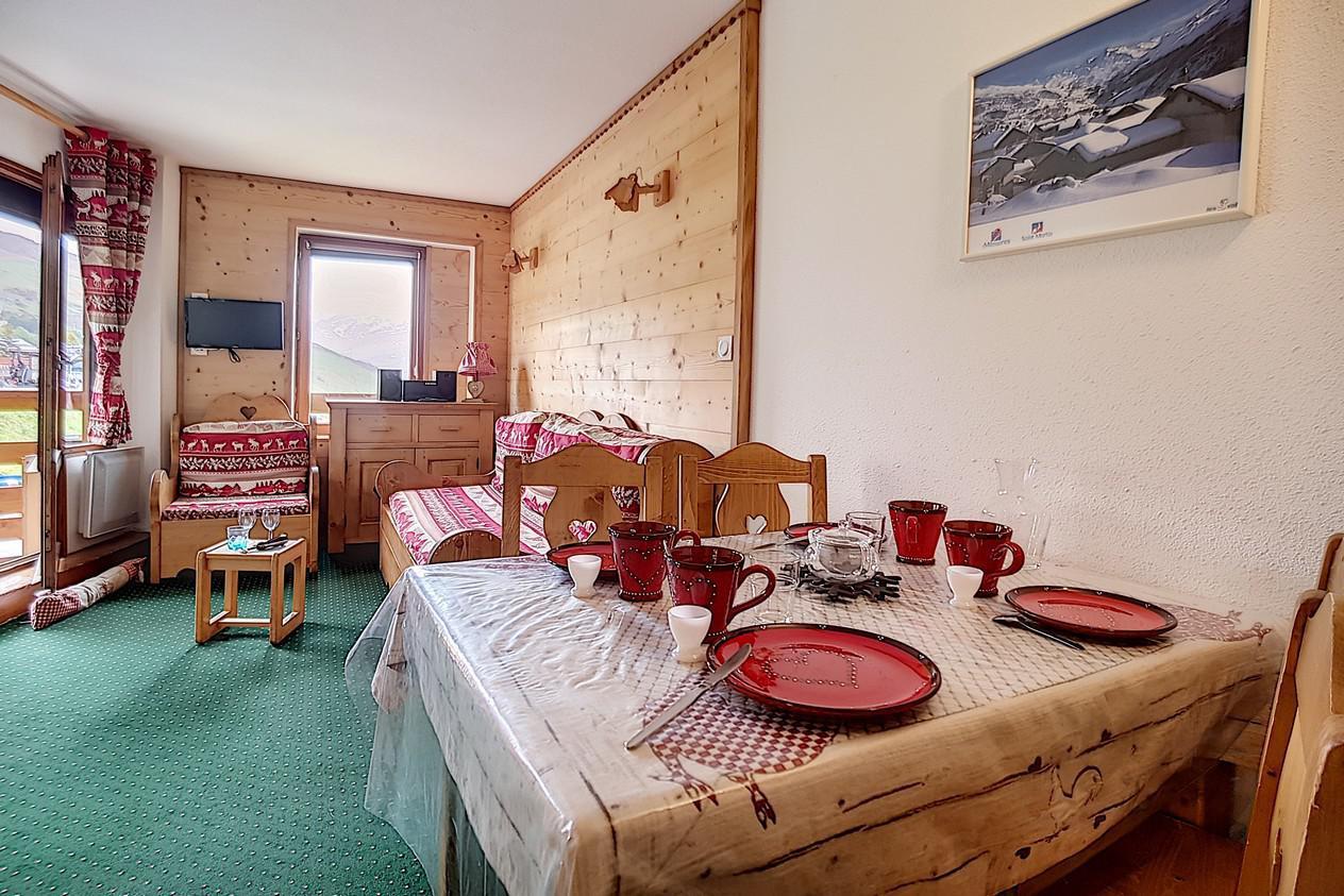 Location au ski Appartement 2 pièces 4 personnes (624) - La Residence Le Necou - Les Menuires - Kitchenette