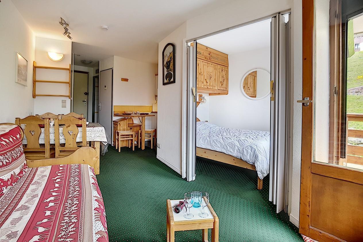 Location au ski Appartement 2 pièces 4 personnes (624) - La Residence Le Necou - Les Menuires - Séjour